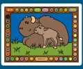 Coloring Book 10: Baby Animals Screenshot 0