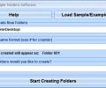 Create Multiple Folders Software Screenshot 0