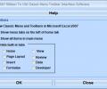 Excel 2007 Ribbon To Old Classic Menu Toolbar Interface Software Screenshot 0