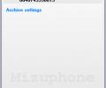 Mizu VoIP SoftPhone Screenshot 0