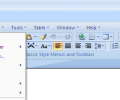 Classic Style Menus for Office 2007 Screenshot 0
